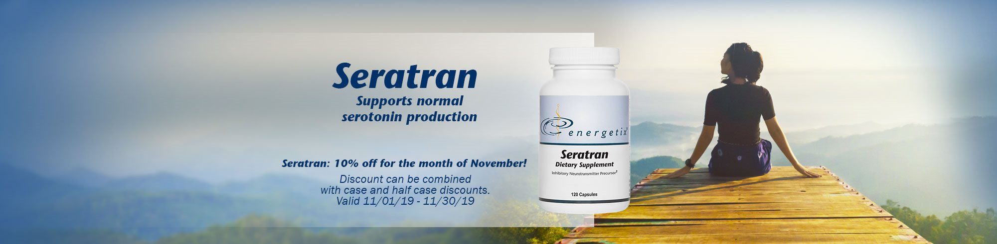 Seratran is November's Product of the month